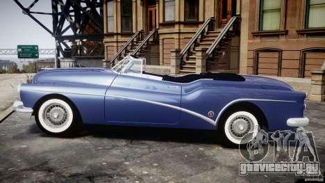 Buick Skylark Convertible 1953 v1.0 для GTA 4 вид сзади слева