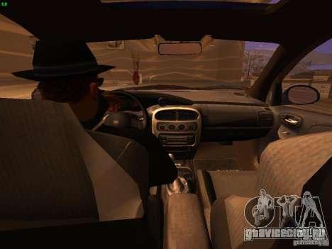 Dodge Neon SRT4 2006 для GTA San Andreas вид изнутри
