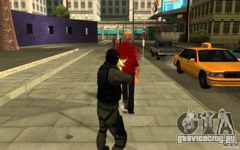 CJ-спецназ для GTA San Andreas пятый скриншот