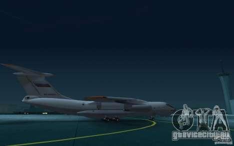 ИЛ 78 Танкер для GTA San Andreas вид сзади