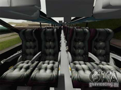 Busscar Panoramico DD 8x2 для GTA San Andreas вид снизу