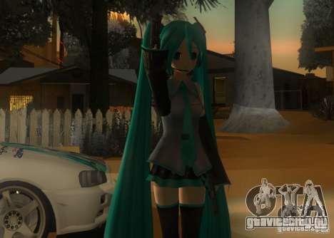 Anime Characters для GTA San Andreas третий скриншот