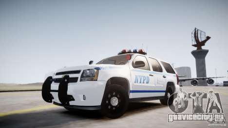 Chevrolet Tahoe 2012 NYPD для GTA 4