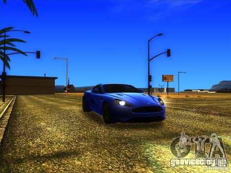 Aston Martin Virage 2011 Final для GTA San Andreas