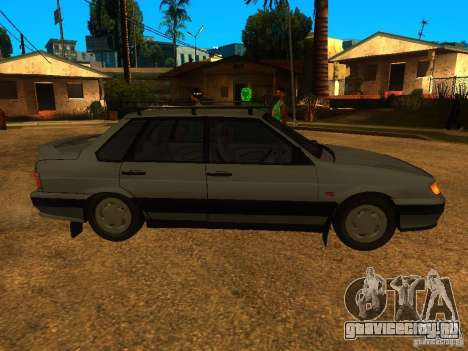 Ваз-2115 для GTA San Andreas вид слева