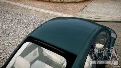 Volkswagen New Beetle 2003 для GTA 4 вид сверху