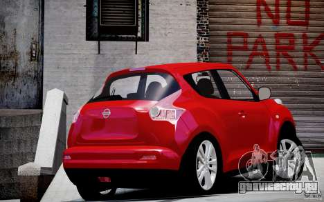 Nissan Juke для GTA 4 вид слева