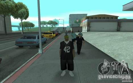 Новый скины Los Santos Vagos для GTA San Andreas