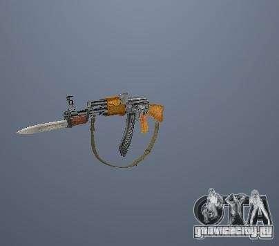 Пак высоко полигонального оружия для GTA San Andreas
