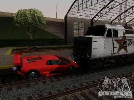 Crazy Trains MOD для GTA San Andreas третий скриншот
