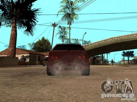 ВАЗ 2108 Tuning для GTA San Andreas вид сзади слева