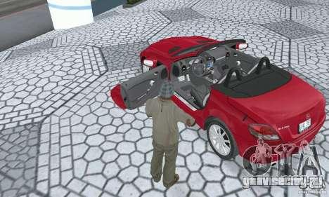 Mercedes-Benz SLK 350 для GTA San Andreas вид сзади