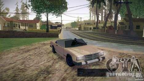 Feltzer HD для GTA San Andreas вид слева
