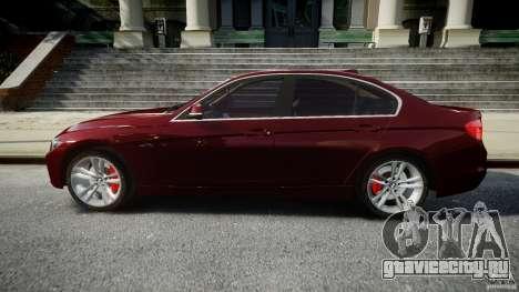 BMW 335i 2013 v1.0 для GTA 4 вид слева
