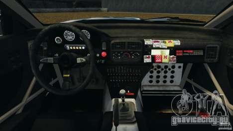 Subaru Impreza WRX STI 1995 Rally version для GTA 4 вид сзади