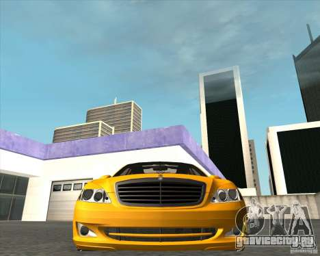 Mercedes Benz S600 Panorama by ALM6RFY для GTA San Andreas вид справа