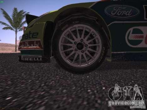 Ford Focus RS WRC 2010 для GTA San Andreas двигатель
