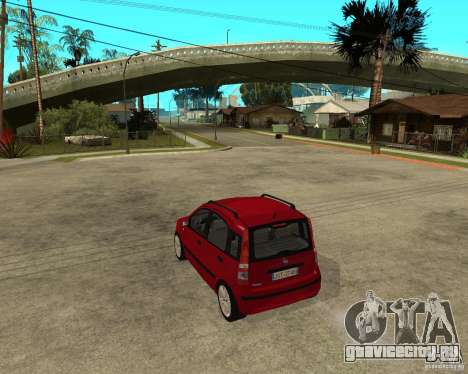 2004 Fiat Panda v.2 для GTA San Andreas