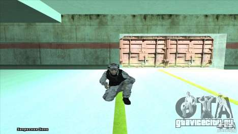 Army Soldier v2 для GTA San Andreas пятый скриншот