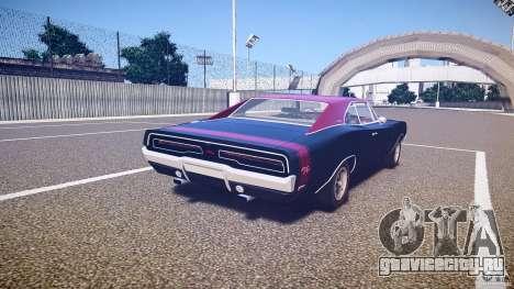 Dodge Charger RT 1969 v1.0 для GTA 4 вид сбоку