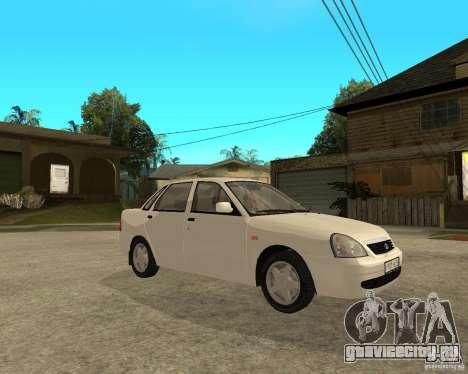 ВАЗ 2170 Лада Приора для GTA San Andreas вид справа