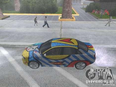 Audi RS 4 для GTA San Andreas вид справа