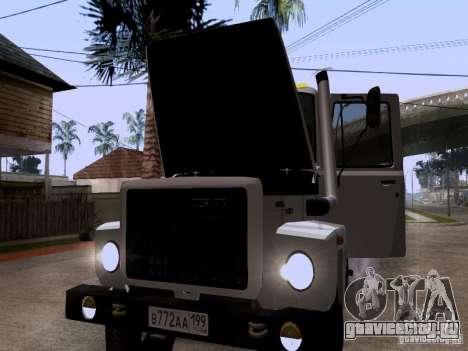 ГАЗ 3309 Эвакуатор для GTA San Andreas вид сбоку