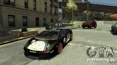 Lamborghini Gallardo SE Threep Edition [EPM] для GTA 4