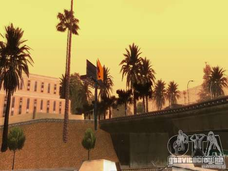 New trees HD для GTA San Andreas седьмой скриншот