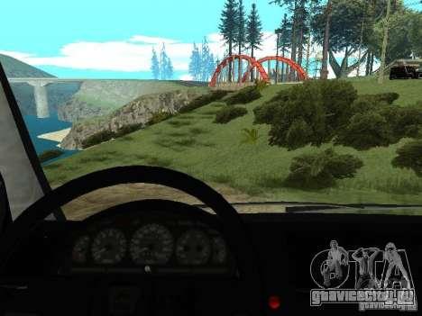 ГАЗ 2217 ФСБ для GTA San Andreas вид сзади