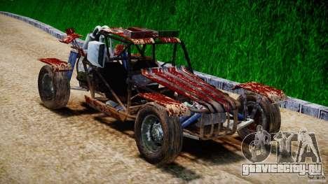 Buggy Avenger v1.2 для GTA 4 вид сзади