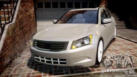 Honda Accord 2009 для GTA 4