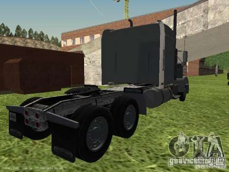 Freightliner FLD120 Classic XL Midride для GTA San Andreas вид сзади слева