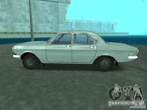 ГАЗ 24Р для GTA San Andreas вид слева