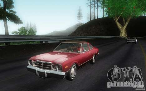 Plymouth Volare Coupe 1977 для GTA San Andreas