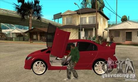 Honda Civic Mugen RR для GTA San Andreas вид слева