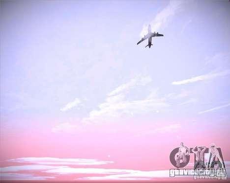 Real Clouds HD для GTA San Andreas