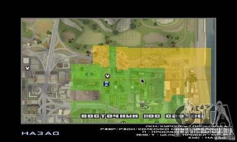 Kiosk Mod для GTA San Andreas четвёртый скриншот