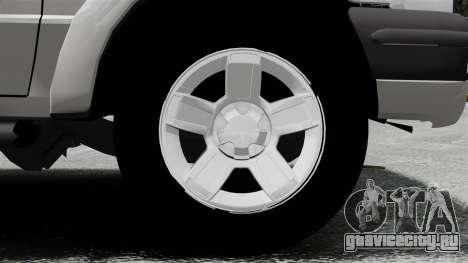 Ford Ranger 2008 XLR для GTA 4 вид сзади