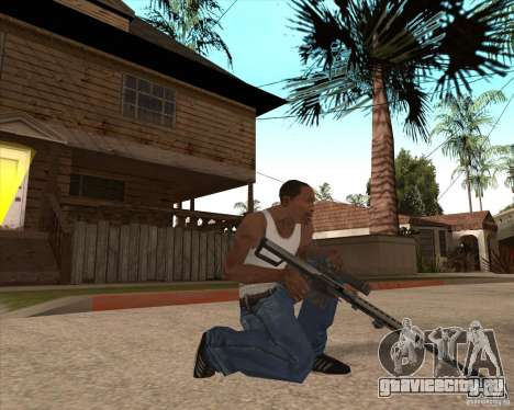 CoD:MW2 weapon pack для GTA San Andreas одинадцатый скриншот