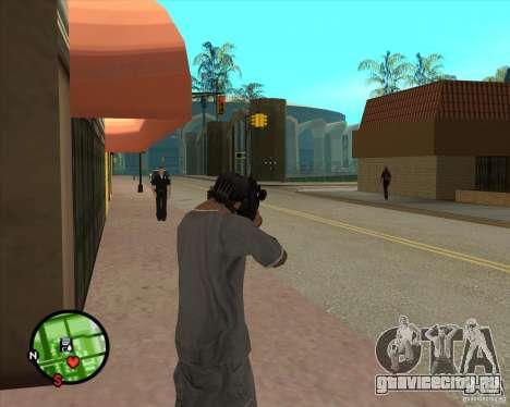 Автомат Росса для GTA San Andreas третий скриншот