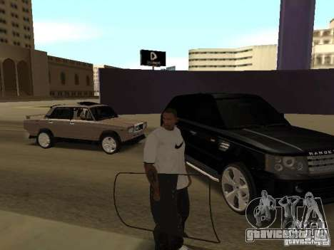 Броне щит из Call of Duty Modern Warfare 2 для GTA San Andreas третий скриншот