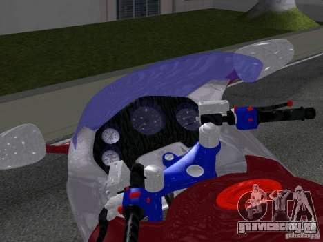 Honda CBR1100XX для GTA San Andreas вид справа