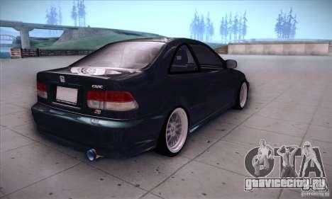 Honda Civic 6Gen для GTA San Andreas вид справа