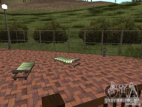 Новая Вилла для CJ для GTA San Andreas шестой скриншот