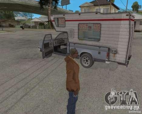 Chevrolet S-10 Kemper v2.0 для GTA San Andreas вид сзади