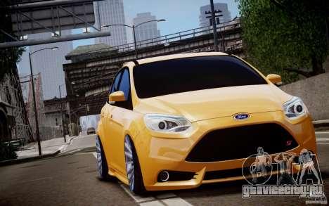 Ford Focus ST Mk.III 2013 для GTA 4 вид сбоку