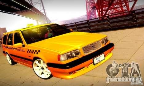 Volvo 850 R Taxi для GTA San Andreas