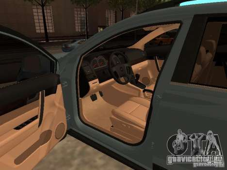 Chevrolet Captiva для GTA San Andreas вид сзади слева