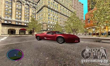 Axis Piranha Version II для GTA San Andreas вид сзади